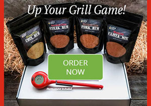 Savoring Today Spice Rub Set with ThermoPop Thermometer